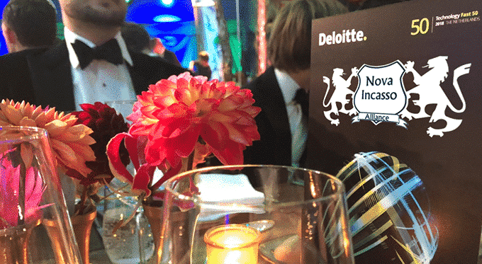 Nova Incasso In Top 50 Van De Deloitte Technology Fast 50