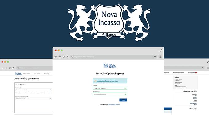 Nieuw Opdrachtgeversportaal Nova Incasso